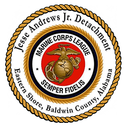 Welcome t​​​o the official website of the Jesse Andrews Jr. Detachment #1378 Marine Corps League, located in Daphne, Alabama.